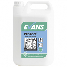 Evans A125 Protect Cleaner Disinfectant 5 Litre