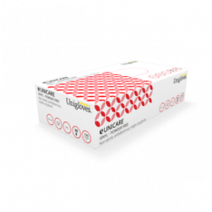 Disposable Vinyl Powder Free Gloves, Red, 100 per box, EXTRA LARGE
