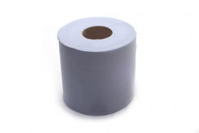 EMBOSSED CENTREFEED ROLL, 2ply , Blue, 144m, 6 Rolls