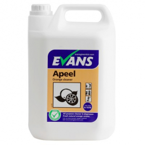 Evans Apeel A112 Orange Fragrance Neutral Multipurpose Cleaner 5