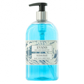 Evans A159 Ocean Blue Hand Wash 6x 500ml