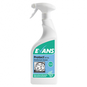 Evans A147 Protect Cleaner Disinfectant Triggers 750ml