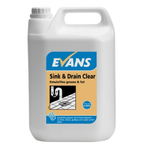 Evans A003 Sink & Drain Cleaner 2.5 litres