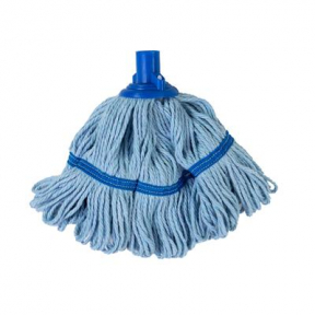 RS 103022B Biofresh T1 Socket Mop Head, Full Colour Coded, 200g, BLUE