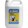 Evans A096 Clear Window Glass Cleaner 5 litre Refil