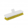 RS 102854 Abbey 23cm Hygiene Deck Scrub, YELLOW