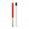 RS 103171 Exel Aluminum Handle, 137cm, RED