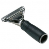 Unger SG000 Stainless Steel Squeegee with Black Rubber Handle